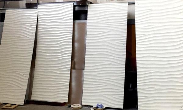 Изготовление 3D панелей